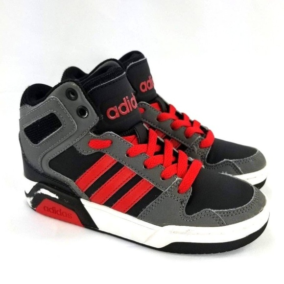 Adidas Boys Basketball High Top Shoes